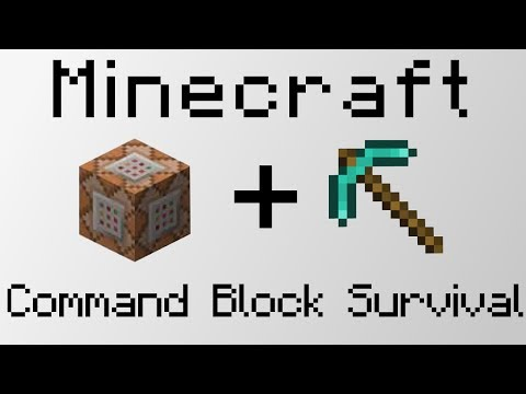 Command Block Survival :  Easy Flying Machine!