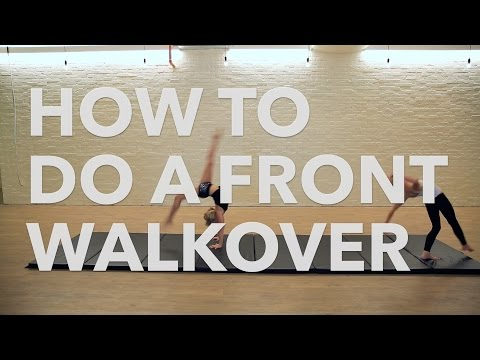 How To Do A Front Walkover | Tumbling & Gymnastics Tips For Kids