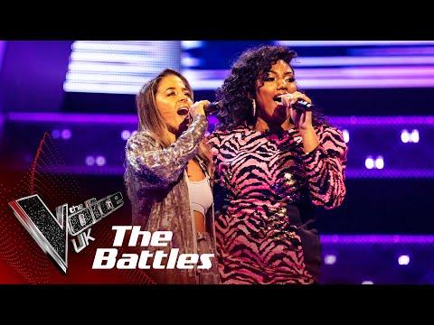 Blaize China VS Claudillea Holloway - 'The Greatest' | The Battles | The Voice UK 2020