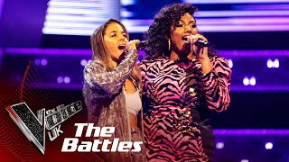 Blaize China VS Claudillea Holloway - 'The Greatest' | The Battles | The Voice UK 2020
