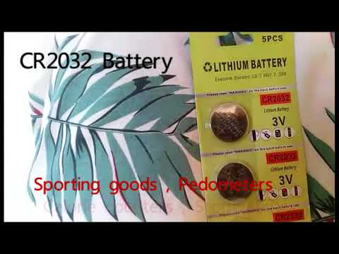How to define  CR2032 3 Volt Lithium Coin Battery