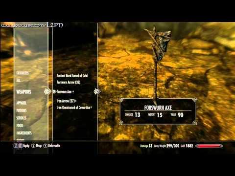Elder Scrolls V Skyrim - Red Eagle Sword |