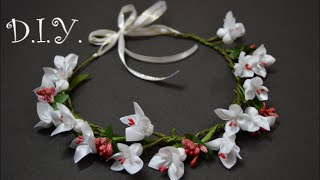 ✾ ❀ ❁ D.I.Y. Flower Crown Tutorial | MyInDulzens ✾ ❀ ❁