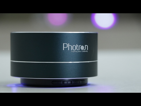 Photron P10 Wireless Portable Bluetooth Speaker UNBOXING & REVIEW