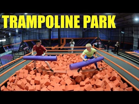 CORBY TRAMPOLINE PARK SESSION