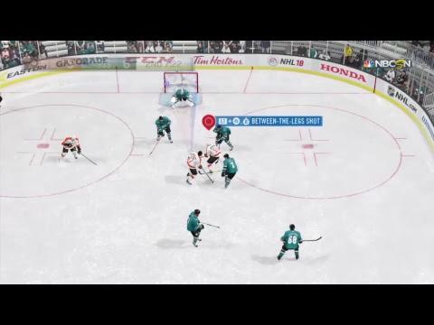 NHL 18 - Philadelphia Flyers vs. San Jose Sharks