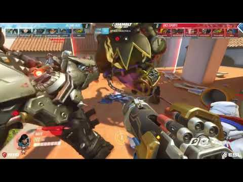 Helsinki REDS vs ENCE-BO5 Map 1,2 @Hollywood @Numbani - Losers Finals Assembly Winter 2017