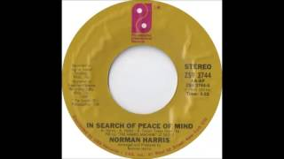 Norman Harris -  In Search Of Peace Of Mind