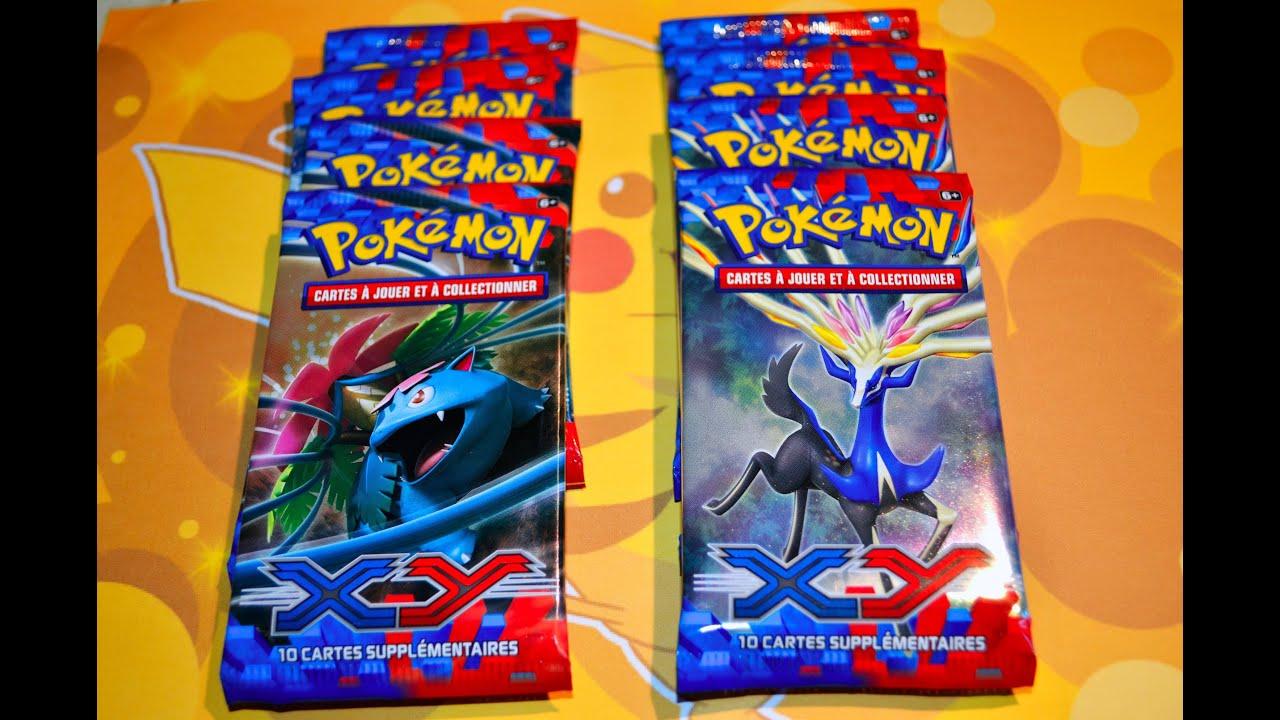[Avant premi¨re] Ouverture de 8 boosters Pokémon XY Méga évolution Méga contente
