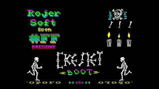 Skeleton boot - RojerSoft/Forgotten Future [#zx spectrum AY Music Demo]