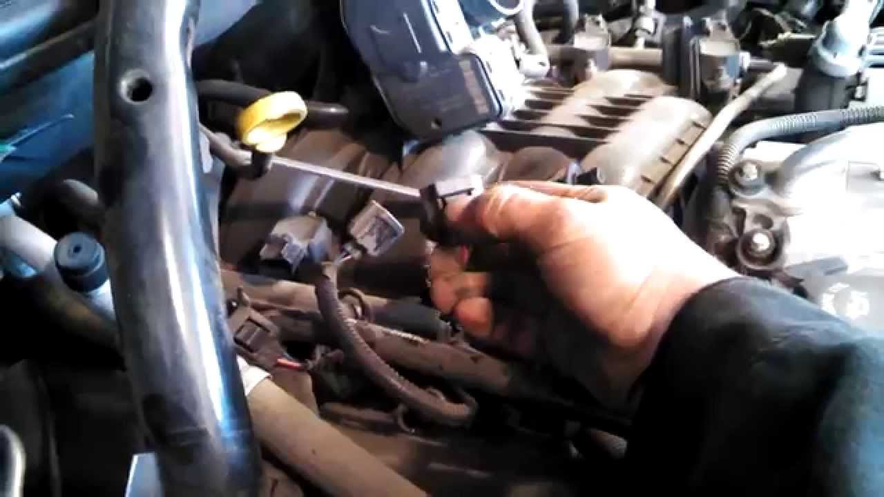 Spark Plug Replacement Jeep Grand Cherokee 37l V6 2007 Plugs Tune Liberty Ignition Wiring Up Youtube