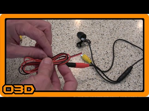 Car Camera Wiring Tip - Using the red tail wire for power