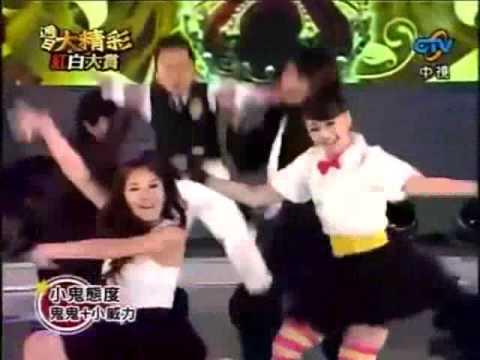 GuiGui's dance performance with Little Wei Li (w/E...