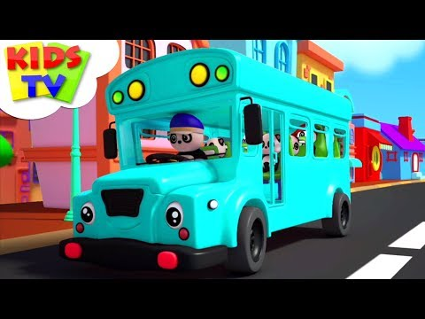 The Wheels On The Bus | Baby Bao Panda | Nursery Rhymes & Songs For Children - Kids TV