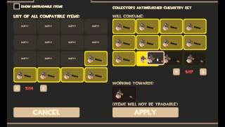 Using A Collector's Chemistry Set (Axtinguisher) TF2