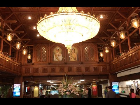 BUDGET HOTEL IN BANGKOK: Bangkok Palace Hotel Room Tour