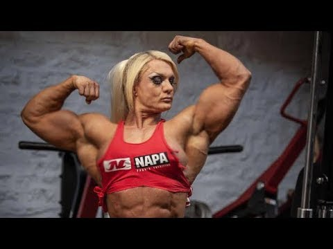 Fbb ripped muscle girl workout female fitness club - Lisa cross fbb ...