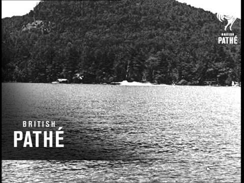 Lake George, New York - Speedboats (1935)