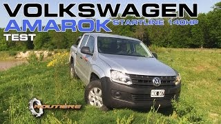 Volkswagen Amarok Startline 2.0 - 140 HP Test - Routière