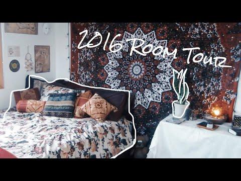 2016 ROOM TOUR: Boho + Tumblr Inspired