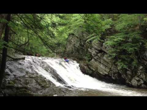 Greenland Gap Waterfall