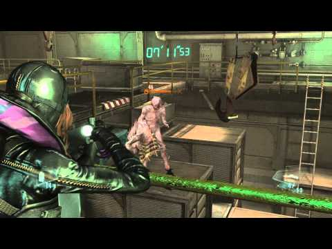 Resident Evil Revelations HD Raid Mode Stage 13 Abyss Solo Trinity Rank |