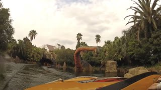 Jurassic Park: The Ride POV, Universal Studios, Osaka, Japan