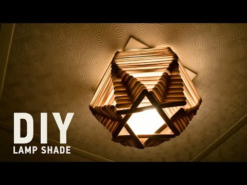 Homemade DIY Lamp Shades: 5 Minute Crafts for Home Decor
