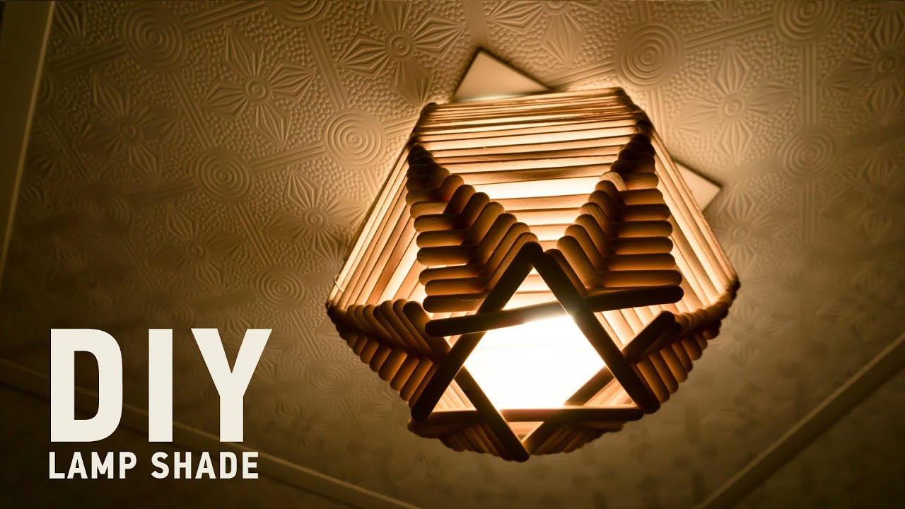 Homemade diy lamp shades 5 minute crafts for home decor youtube homemade diy lamp shades 5 minute crafts for home decor aloadofball Choice Image