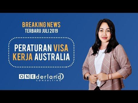 Peraturan Kerja Di Australia TERBARU Juli 2019