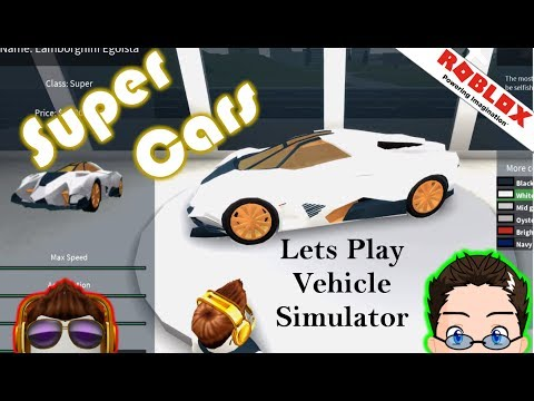 Roblox - Vehicle Simulator - Buying Super Cars