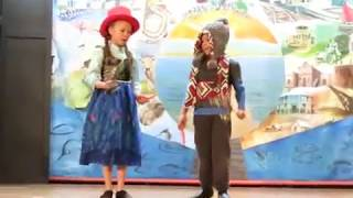 ZA (8 yrs) and JD Holt (7 yrs) - Do You Want to Build a Snowman (2 Nov 2016)