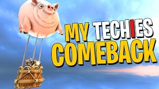My Techies Comeback - DotA 2