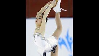 フィギュアスケート女子の15年世界選手権銀メダリスト、宮原知子(1...