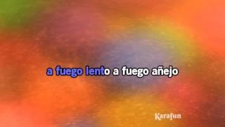Karaoke A fuego lento - Rosana *