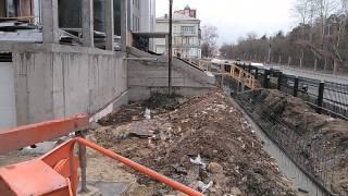 Продувка стрелы бетононасоса шаром(, 2015-04-06T16:48:45.000Z)