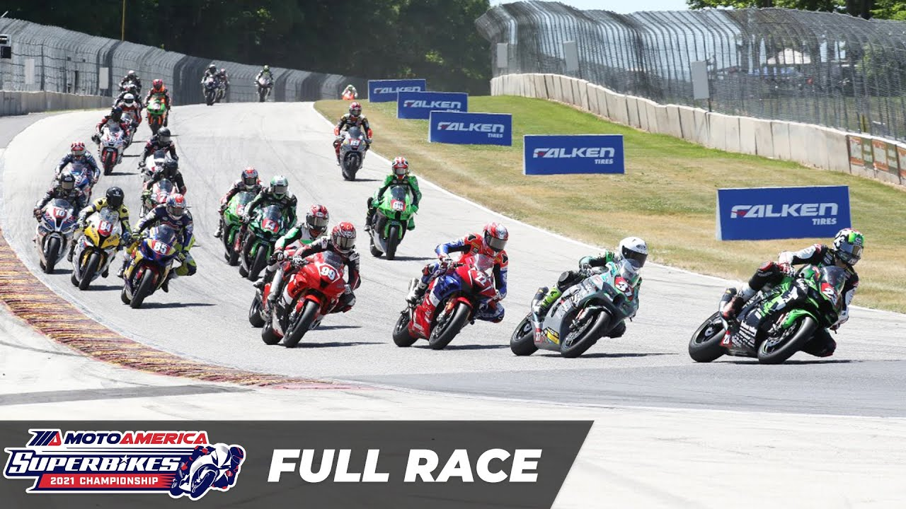 MotoAmerica Stock 1000 Race at Road America 2021