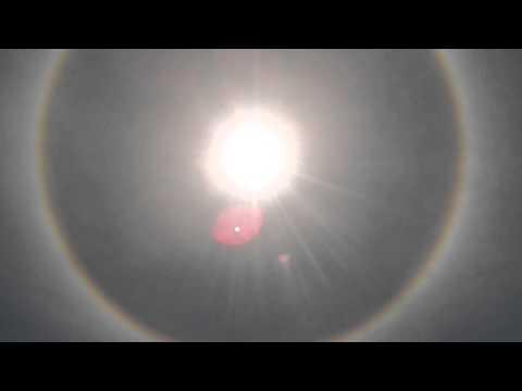 Halo Solar en Acapulco 27/08/2014