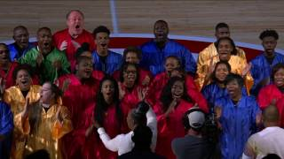 Hawks Get Awesome Choir Intro for MLK Jr. Day | 01.15.17