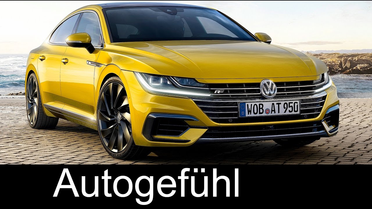 volkswagen arteon all new vw cc successor preview exterior interior autogef hl youtube. Black Bedroom Furniture Sets. Home Design Ideas