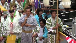 16日に六代目桂文枝を襲名する桂三枝さんが襲名記念イベントとして道頓...