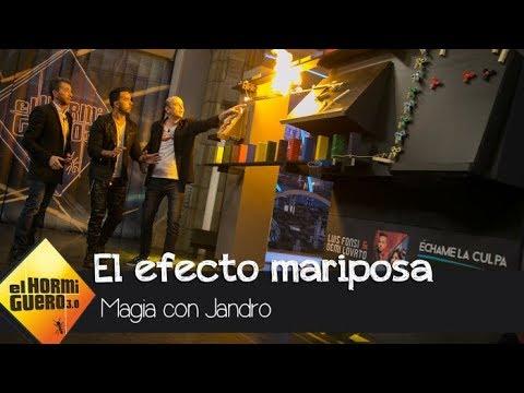 El efecto mariposa mágico de Jandro que ha dejado a Luis Fonsi sin palabras  El Hormiguero 30