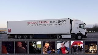 Renault Trucks Roadshow: Dutch drivers road testing the Renault T 480 460