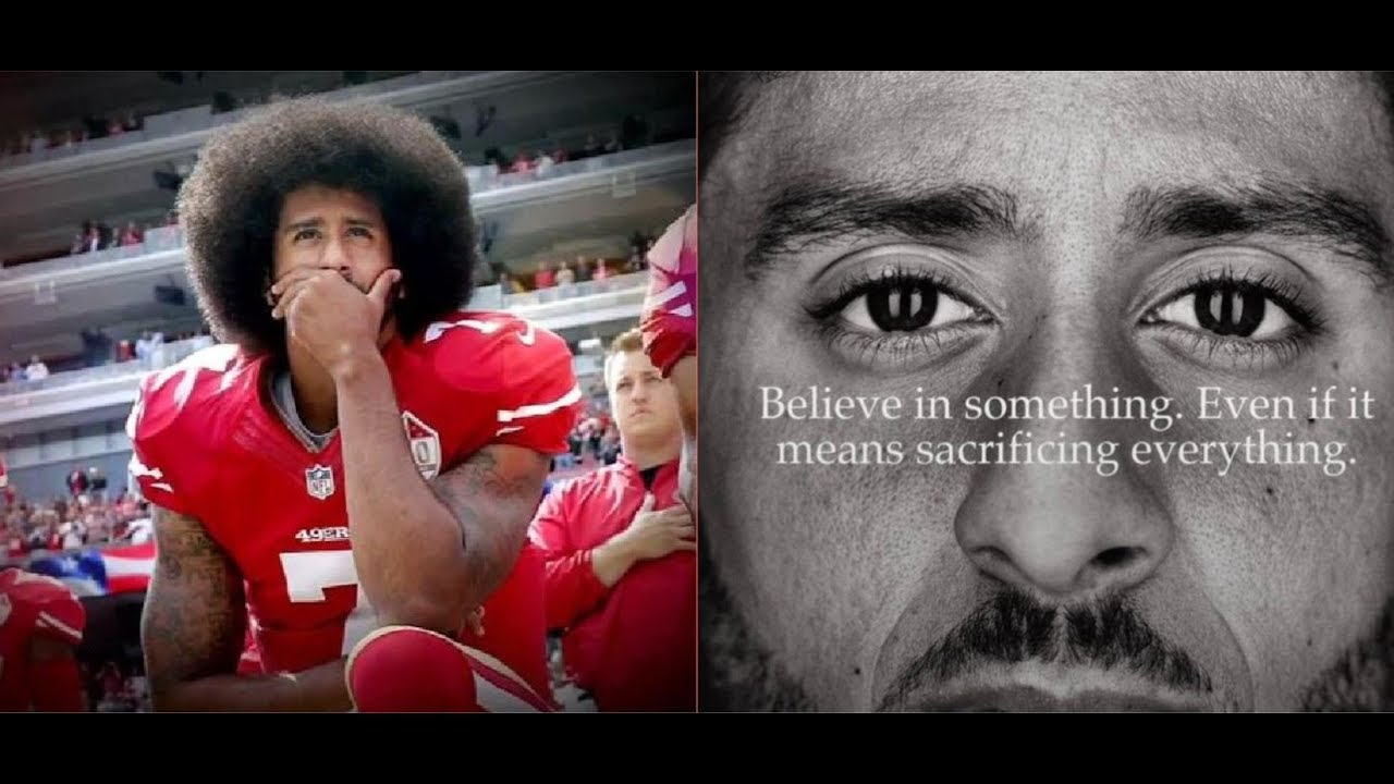 COLIN KAEPERNICK NIKE AD BACKLASH IS RACIST HATRED FOR BLACK LIFE  (I WILL SHOW YOU IN THIS VIDEO )