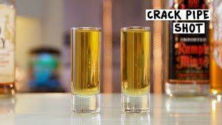Crack Pipe Shot - Tipsy Bartender