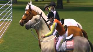 The Sims 3. The story about my horse