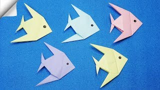 DIY paper crafts for kids  Paper Fish