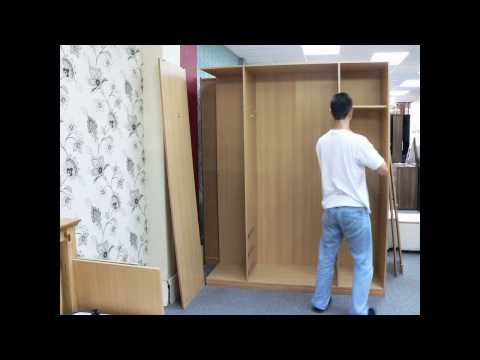 Rauch Wardrobe Assembly William Glover Youtube