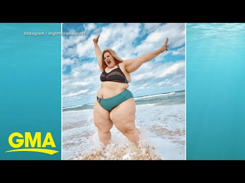 Why a photo of a plus-sized model in a bikini has divided Twitter l GMA. http://bit.ly/2MFPP4N