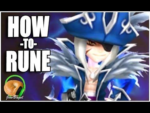 SUMMONERS WAR : How to Rune Galleon